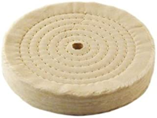Extra Thick Spiral Sewn Buffing Wheel, 6 (80-Ply)