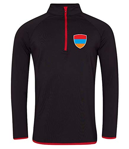 Nation Armenien Sweatshirt Sport Atmungsaktiv UV-Schutz JC-GO SC-R (XXL)