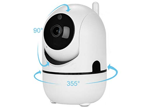 Home Monitoring Camera with Phone App Camera for Dogs at Home Pan Tilt Zoom Rotate Smart Pet Nanny Baby Dog Cam Wireless WiFi Security Camera with Two Way Communication Night Vision Cloud Cam 2.4G