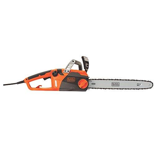 BLACK+DECKER Electric Chainsaw, 18-Inch, 15-Amp (CS1518)