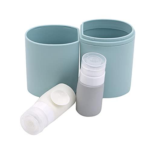 Nordic - Cepillo de dientes y cepillo de dientes portátil 3 en 1 (color: azul claro)