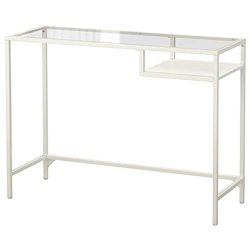 ZigZag Trading Ltd IKEA VITTSJO - Laptop tafel Wit/glas