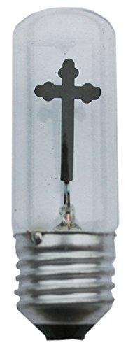 Scharnberger+Hasenbein Kreuzlampe, Glas, E27, 3 W, klar, 9 x 3 x 3 cm