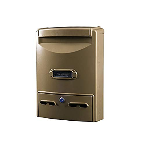 LXLXCS Wall Mounted Mailbox - Best for Voting, Charity, Ballot, Survey, Raffle, Contest, Suggestions, Tips, Comments