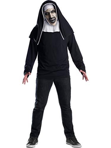 Máscara de The Nun Deluxe para adultos, Talla única (Rubie
