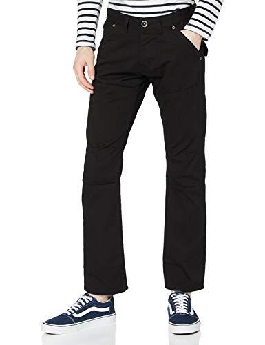Enzo Herren EZ243 Straight Jeans, Schwarz (Schwarz Schwarz), 38 W/30 L
