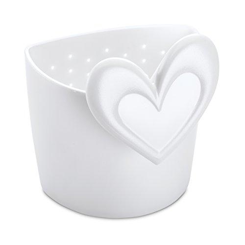 koziol Teesieb Susi, Kunststoff, weiß, 6.5 x 6.7 x 7.8 cm