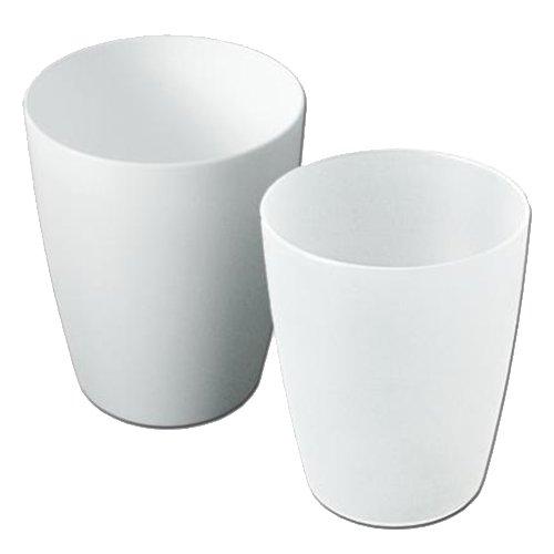 Buchsteiner BS2122W Gobelet avec Repère Plastique Blanc 200 ml