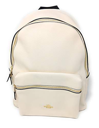 COACH CHARLIE BACKPACK,F29004, CHALK/LIGHT GOLD