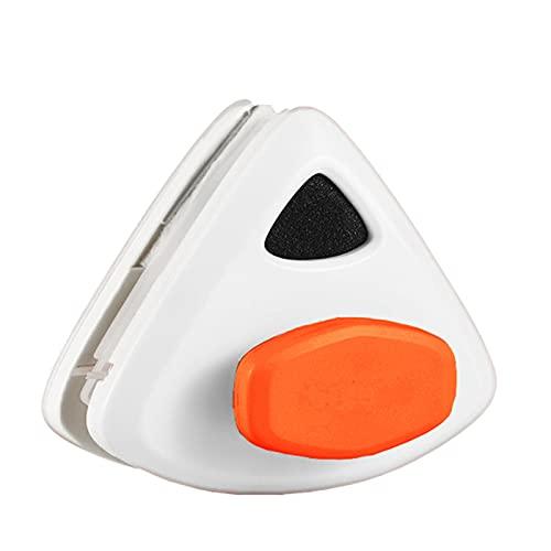 SSDM Herramientas de Limpieza magnéticas, limpiacristales Ajustable de 5 limas, Cepillo Limpiador de Lavado de Doble Cara, Doble acristalamiento para Autos de Gran Altura,Orange(20~30mm)