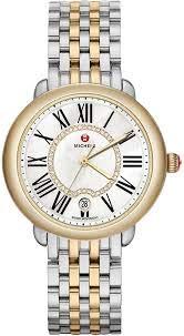 Serein Mid Two-Tone MWW21B000015 Diamond Dial Watch (Two-Tone)