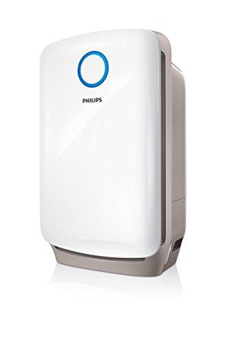 Philips AC4080/10 2-in-1 Kombigerät Luftbefeuchtung und Luftreinigung in einem, weiß
