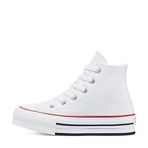Converse Chuck Taylor All Star EVA Lift, Zapatillas de Gimnasio Unisex niños,...