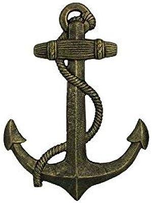 Amazon.com: PERTTY gancho de ancla náutica de hierro fundido ...