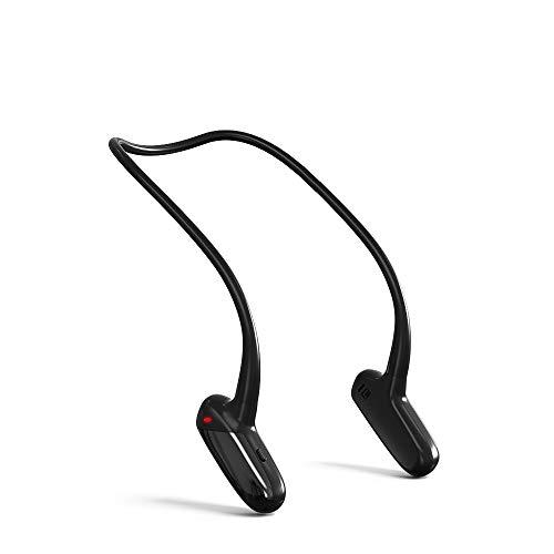 骨伝導イヤホン Bluetooth5.0 イヤホン 骨伝導ヘッドホン 耳掛け式 外音取込み 大容量電池 8時間通話 超軽量 ノイズキャンセリング 高音質 IPX5防水防滴 ワイヤレスイヤホン ブルートゥース イヤホン スポーツ用 (黒い)