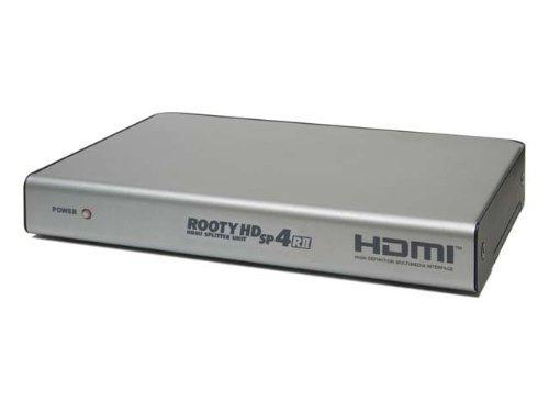 電波新聞社 ROOTY HD SP4/R2 HDMI分配器(4出力) DP3913476