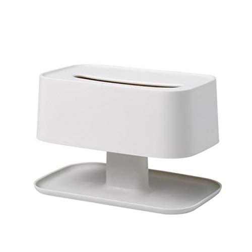 LANKOULI Tissue Box Tissue Box Aufbewahrungstablett für Schlafzimmer Wohnzimmer Teetisch Schreibtisch Kommode Papier Serviettenhalter Home Organizer