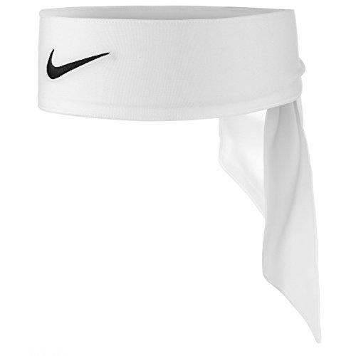 Nike Dri-Fit Head Tie 2.0 Haarbänder, White/Black, One Size