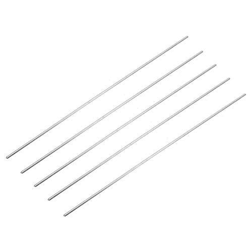 HONYGE LXGANG Kit de soldadura de accesorios de soldadura 5 piezas 230 x 2 mm varillas de reparación de aluminio de baja temperatura compatibles con soldadura de arco de aluminio/gas y argón