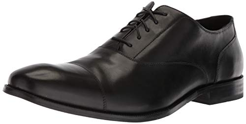 Cole Haan Men's Williams Cap Toe Oxford, Black, 8