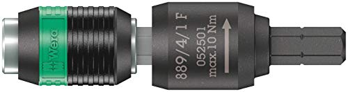 Wera '05052501001 Porta-puntas de giro libre, 1/4' x 64 mm