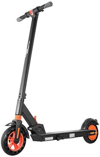 Kugoo Kirin S1 Scooter eléctrico de 8 pulgadas, neumáticos de 350 W CC, motor sin escobillas con velocidad de hasta 25 km/h, sistema de frenado dual