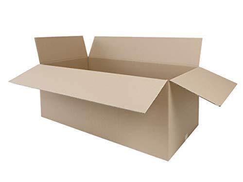 3 Faltkartons 1200 x 600 x 600 mm | großer Versandkarton geeignet für DHL | variable Höhe | 2-wellige BC-Welle | 1-25 Kartons wählbar