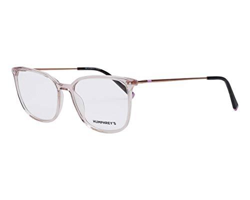 Humphrey's Brille (581084 56) Acetate Kunststoff - Metall pink kristall - roségold