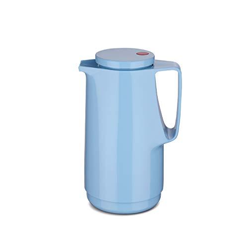 ROTPUNKT Isolierkanne 760 Maxima 1,0 l   Zweifunktions-Drehverschluss   BPA-frei - gesundes Trinken   Made in Germany   Warm + Kalthaltung   Glaseinsatz   babysmurf