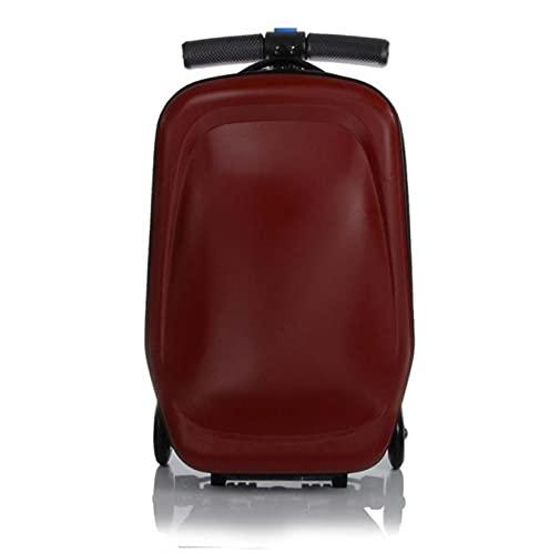 Scooter Maleta de equipaje de 20 pulgadas para estudiantes de viaje de PC de equipaje tamaño cabina hombres y mujeres Skateboard Box