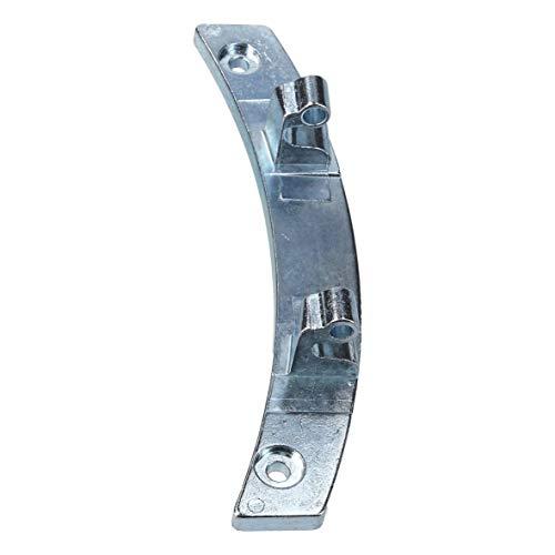 Europart 10035763 Türscharnier Scharnier Metallscharnier Glastürscharnier Metalltürscharnier Trockner Wäschetrockner wie AEG Electrolux 1366253233 136625323 auch passend für Fors Husqvarna JohnLewis