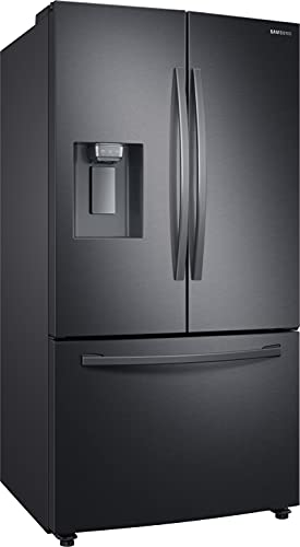 Samsung RF23R62E3B1/EG frigo américain Autoportante 630 L F Noir, Acier inoxydable