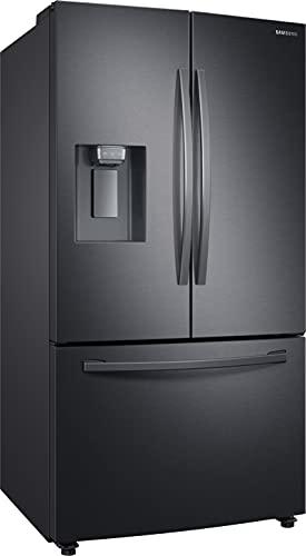 Samsung RF23R62E3B1, EG Kühlschrank im French DoorStil mit Twin Cooling Plus, 426 Liter Kühlschrankvolumen, 204 Liter Gefriervolumen, 427 kWh/Jahr, Premium Black Steel