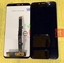 YUVKUZ Display Screen for Micromax Canvas 2 C2A with Touch Combo Folder Full Assembly Digitizer Glass Replacement, Black