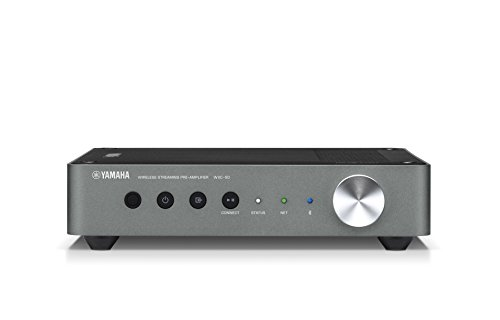 Yamaha WXC-50 – Alexa compatible wireless streaming pre-amplifier with Wi-Fi and Bluetooth – Black