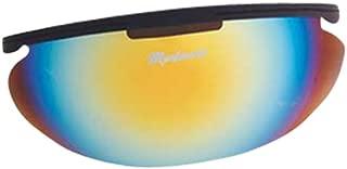 Markwort Men's Powerswing Catcher's Masks Sun Shade (Color: Rainbow)