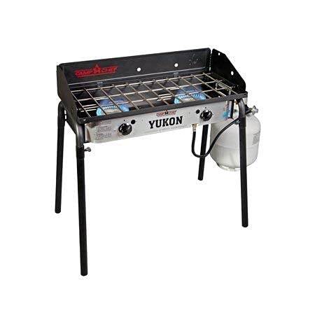 Camp Chef YK60LW Yukon 2-Burner Aluminum Outdoor Camping Stove