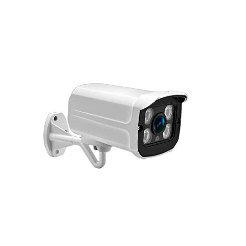 H.265 HD buitencamera 3,6 mm POE Security Camera met IR nachtzicht Motion Detection (brandpuntsafstand: 3.6mm, Pixel: 2MP) HAOSHUAI (Color : 2mp, Size : 3.6mm)