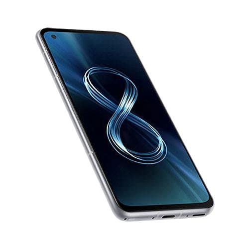 ASUS Zenfone 8 ZS590KS-8J012EU, Smartphone 5G, Display 5,92' AMOLED 2400x1080 120Hz, 256 GB, RAM 16GB, 3 fotocamere, 4000mAh, Dual SIM, (2021), SILVER