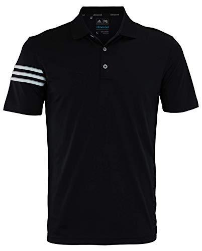 adidas Men's BLK 3STRIPE Polo Size XXXL