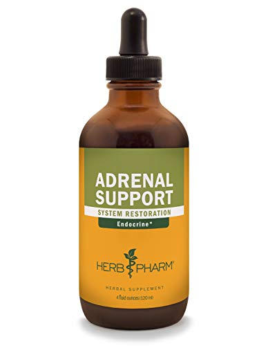 Herb Pharm Adrenal Support Liquid Herbal Formula with Eleuthero and Licorice Liquid Extracts - 4 Ounce