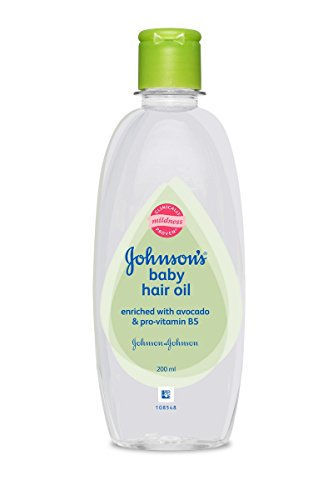 Johnson's Baby Hair Oil (200Ml) Clear by Johnson's