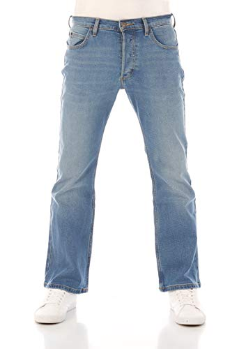 Lee Denver Jeans, Blue Used Fe (Hdbz), 34W x 32L para Hombre