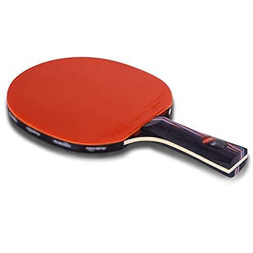JIANGCJ bajo Precio. Juego de Raquetas de Tenis de Mesa Paquete   Incluye 2 Ping Pong Paddle Pro Premium   3 Bolas de Ping Pong, 1 Carry Tourn Case-F