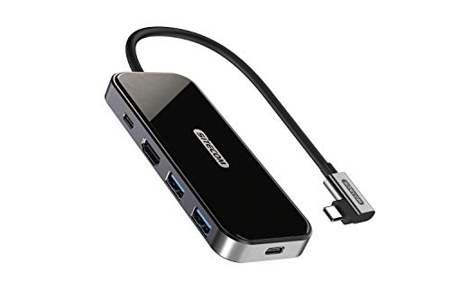 Sitecom USB-C-adapter hub | USB-C op 1x HDMI + 2x USB 3.1 + 1x UBS-C 3.1 + 1x UBS-C Power Delivery - voor MacBook Pro/Air, Chromebook en andere type C-apparaten
