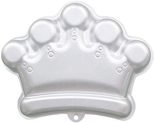 Pralinenformen Muffin-Backformen Cake Pop Formen 11 Zoll Crown Shaped Aluminium 3D Backform Backform Zinn Kuchenform - Krone