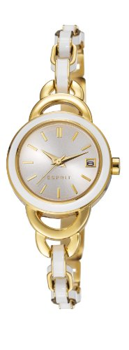 Esprit Joyful orologio al quarzo con display analogico e oro placcato in...