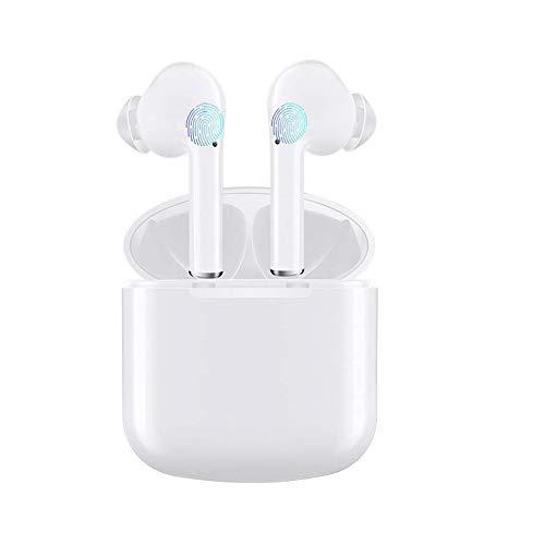 Écouteurs Bluetooth, Casque sans Fil Oreillettes Bluetooth 5.0 Sport Écouteurs in-Ear avec Mic avec étui de Chargement Portable