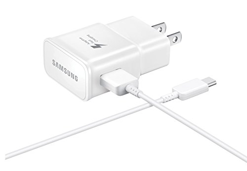 SAMSUNG 887276184562 Cargador + Cable USB-C 2AMP BCO, Color Pack of/Paquete de 1