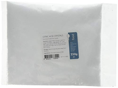 Citric Acid 250g - 100% Pure Food Grade Fine Crystals